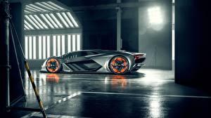 Картинка Lamborghini Сбоку Terzo Millennio Машины