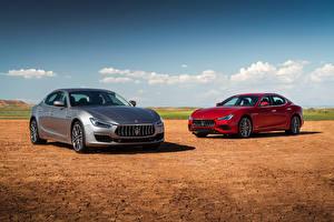 Фотографии Maserati Двое 2017-18 Ghibli Машины
