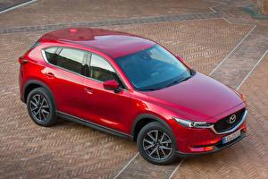 Картинка Mazda Красных Металлик 2017 CX-5 автомобиль