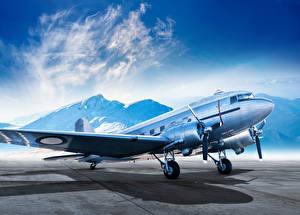 Картинка Самолеты Пассажирские Самолеты