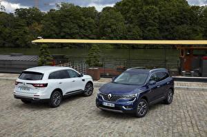 Обои Renault Двое Металлик 2016 Koleos автомобиль