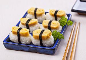 Картинки Морепродукты Суси Продукты питания