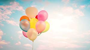 Картинки Небо Воздушный шарик