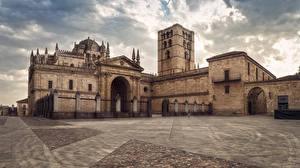 Фотография Испания Храмы Церковь Забор Catedral de Zamora