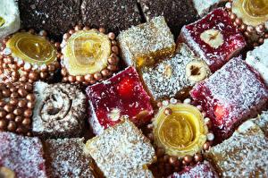 Картинка Сладости Turkish delight Пища