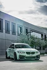 Фотографии БМВ Металлик 2018 Z-Performance BMW M2 Автомобили