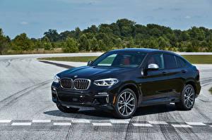 Фото BMW Синяя Металлик 2019 X4 M40i машина