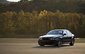 Фото BMW Черный E39 Машины