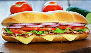 Обои Фастфуд Сэндвич Булочки Продукты питания