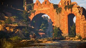 Фото Крепость The Witcher 3: Wild Hunt Кирпичный компьютерная игра 3D_Графика