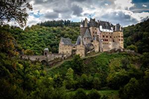 Фотография Германия Замки Леса Burg Eltz