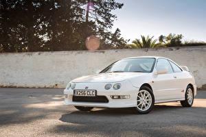 Фотографии Хонда Белый Металлик 1997-2001 Integra Type-R Авто