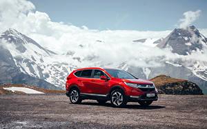 Фото Хонда Красный Металлик 2018 CR-V Авто