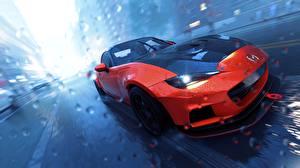 Картинки Мазда The Crew Красные 2, MX5 Игры Автомобили