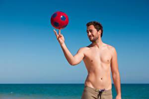 Фотографии Мужчины Мяч