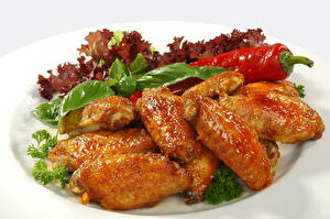 Картинка Курица запеченная Овощи