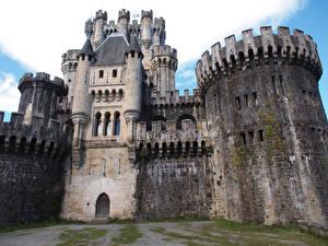 Картинка Испания Замки Butron Castle