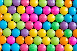 Фото Текстура Конфеты Разноцветные