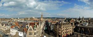 Обои Великобритания Здания Улице Oxford город