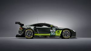 Фото Aston Martin Тюнинг Сбоку GTE V8 Машины