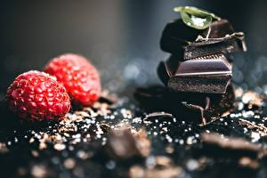 Фотографии Шоколад Малина