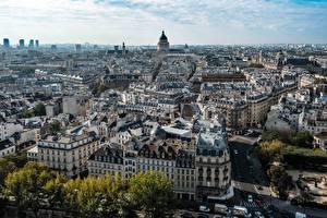 Фото Дома Франция Сверху Париж Города