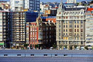 Фотография Здания Испания La Coruna Города