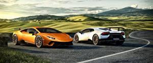 Обои Lamborghini 2 Huracan 3D_Графика