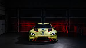 Фотографии Lotus Спереди Vantage 2018 GTE Машины