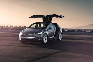 Фотографии Tesla Motors Electric X P90D машина