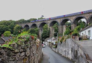 Обои Великобритания Здания Дороги Мосты Saint Austell Города