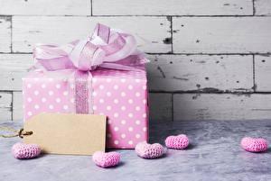 Картинка День всех влюблённых Подарки Шаблон поздравительной открытки Сердечко