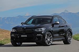Картинка BMW Черный dÄHLer X4 M40d Авто