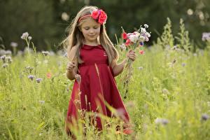 Фото Букет Платье Девочка ребёнок