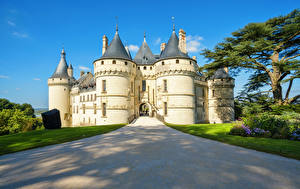 Фото Франция Замки Дороги Loire Valley Castles Города