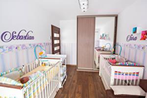 Фотография Интерьер Детская комната Дизайна Кровати