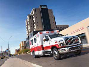 Фотография Интернешнл Грузовики 2018  CV Day Cab Ambulance