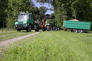 Картинки Мерседес бенц Грузовики 2013-18 Unimog U430
