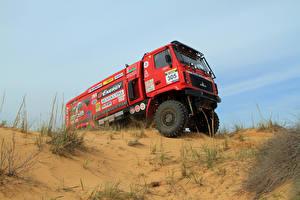 Фотографии Грузовики Стайлинг Красный 2014-18 MAZ-5309RR Автомобили