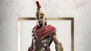Фото Воители Мужчины Assassin's Creed Assassin's Creed Odyssey Шлем Игры
