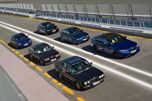 Фотография BMW Много 1985-2018 M5 Автомобили
