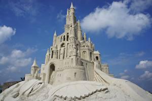 Картинки Замки Песок