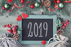Фотография Рождество Шар 2019 Сердечко