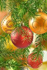 Картинка Рождество Шар