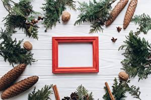 Картинка Рождество Шишки