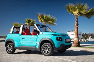 Обои Citroen Голубой 2016 E-Mehari Авто