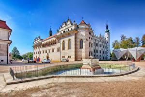Фото Чехия Замки Фонтаны Litomyšl Castle