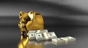 Обои Доллары Деньги Банкноты