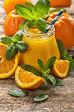Фото Сок Апельсин Банка Продукты питания