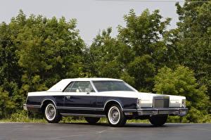 Картинки Lincoln Винтаж Металлик 1979 Continental Mark V Bill Blass Edition машина